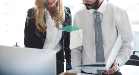 finance report: Chart Business Finance Report Analytics Concept
