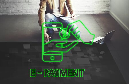 epayment: Payment Banking Transaction Accounting E-Payment Concept