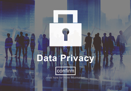 data privacy: Data Privacy Protection Policy Technology Legal Concept
