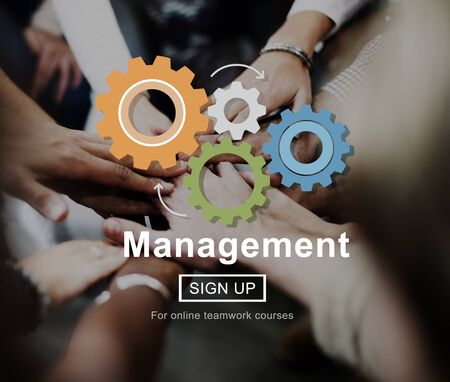 commitment: Management Organization Commitment Process Concept Stock Photo