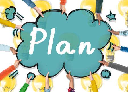 Plan Planning Objective Design Ideas Peocess Concept