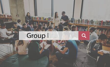 community people: Group People Community Cooperation Corporate Concept Stock Photo