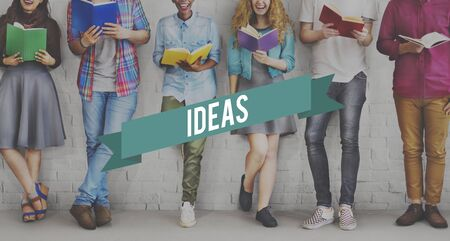 studens: Ideas Creativity Thoughts Imagination Inspiration Plan Concept
