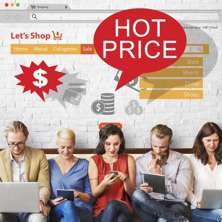 Descuento de la separación Precio caliente concepto de promoción