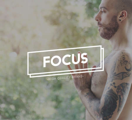 clarity: Focus Clarity Concentration Focal Point Goals Concept