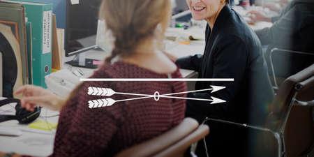 clarity: Clarity Closeup Focal Point Spotlight Target Vision Concept Stock Photo