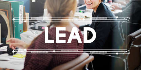 and authority: Lead Leader Authority Coach Direction Manager Concept