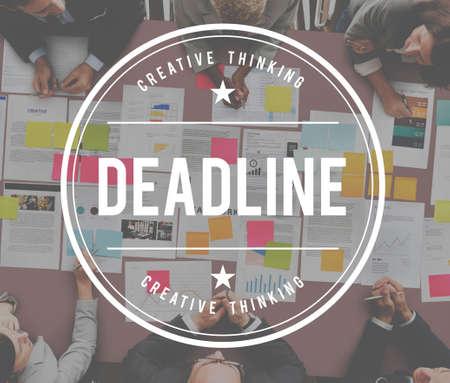 expire: Deadline Expire Timeout Limit Plan Concept