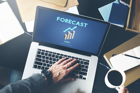 foresee: Forecast Future Planning Predict Stratgey Trends Concept