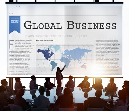 export import: Global Business Export Import Networking Growth Concept