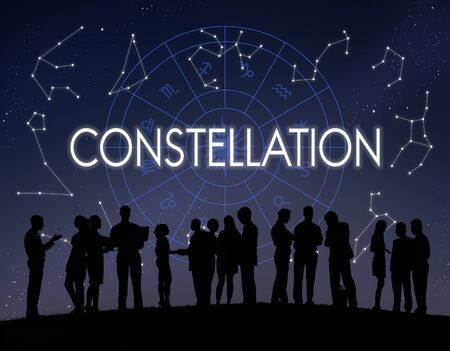 fortune telling: Constellation Astronomy Horoscope Fortune Telling Zodiac Concept