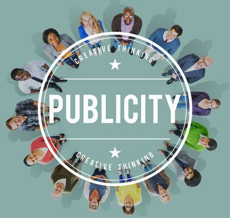 publicity: Publicity Public Attention Propaganda Boost Relation Concept