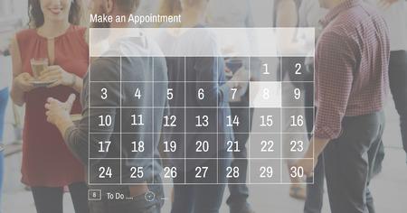 building planners: Agenda Calendar Appointment Planner Schedule Concept