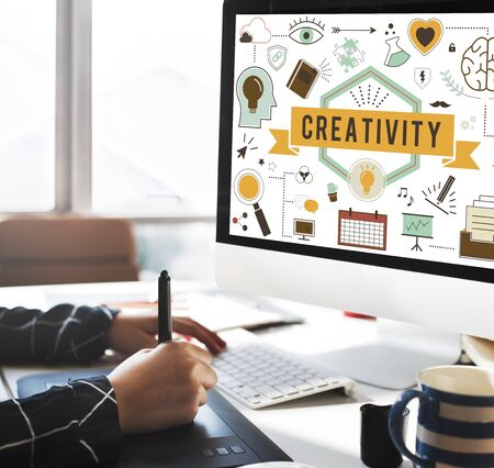 aspirations: Creativity Ability Aspirations Create Development Concept Stock Photo
