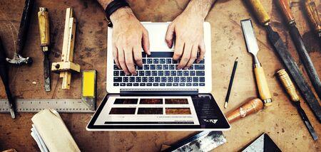 Craftsman Profession Occupation Pursuit Skilled Concept Stock Photo