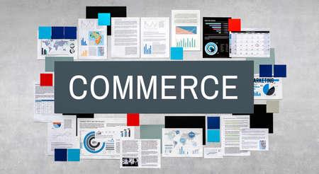 consumerism: Commerce Consumerism Customer Service Store Concept
