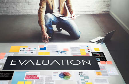 suggestions: Evaluation Opinion Report Suggestion Feedback Concept Stock Photo