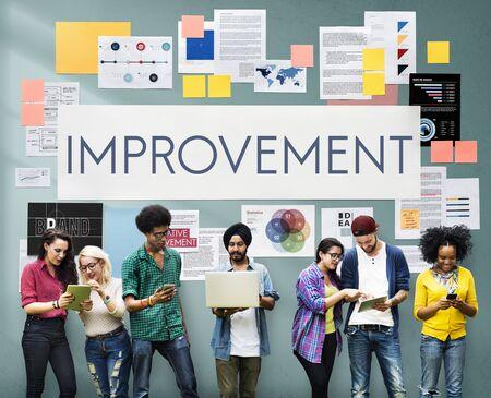 better: Improvement Motivation Change Better Upgrade Concept