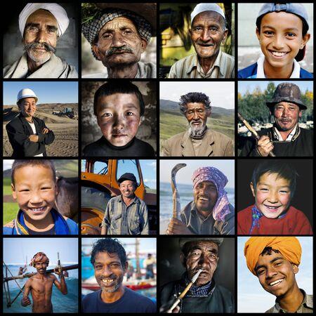 humanismo: La diversidad multi-�tnica Cultura concepto asi�tico