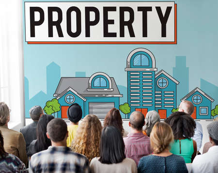 property: Property Housing Estate Ownership Concept Stock Photo