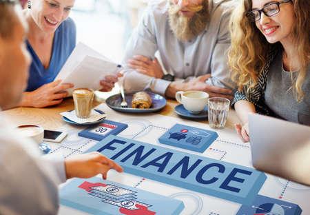 meet up: Finance Money Management Graphics Concept