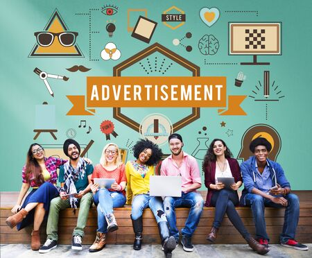 Advertissement Advertising Creative Commercial Concept