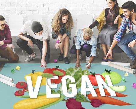 diet plan: Vegan Healthy Eating Food Vegetable Vegetarian Concept