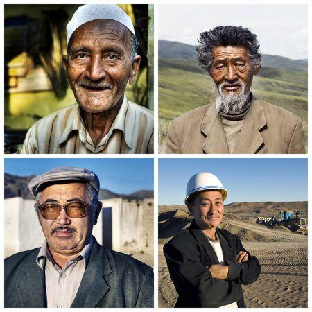 humanism: Ethinicity Diversidad Humanismo Variaci�n Foto de archivo