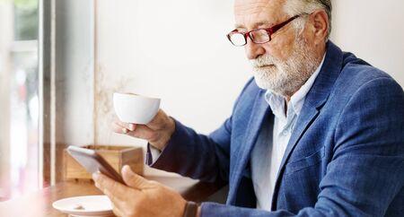 cappucino: Cafe Coffee Cappucino Bar Lifestyle Thinking Concept Stock Photo