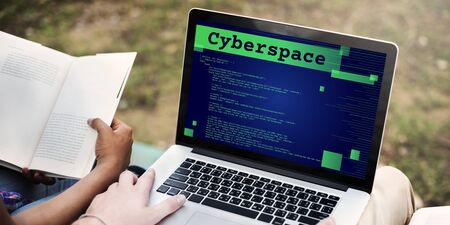 cyberspace: Cyberspace Digital Information Technology Web Concept