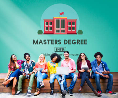 masters: Masters Degree Education Knowledge Concept Stock Photo