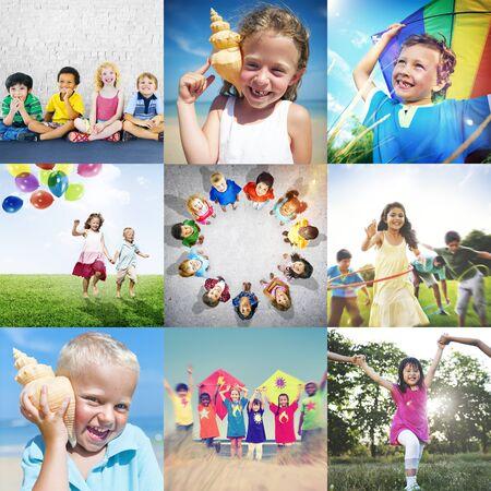 adolescence: Adolescence Childhood Diversity Ethnicity Friends Concept Stock Photo