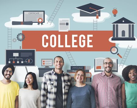 liberal: Collage Academic Education Institution Concept