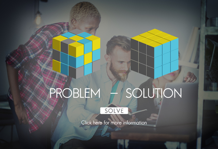 with difficulty: Problem Solution Strategy Trouble Difficulty Ideas Concept