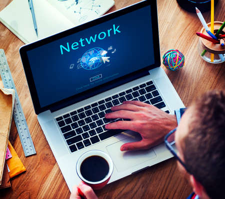 globalization: Internet Network www Globalization Connection Concept Stock Photo