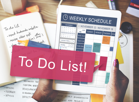 note notebook: To Do List Memo Task Reminder Ideas Note Concept