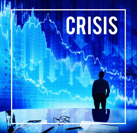 loss leader: Crisis Problem Financial Crisis Concept