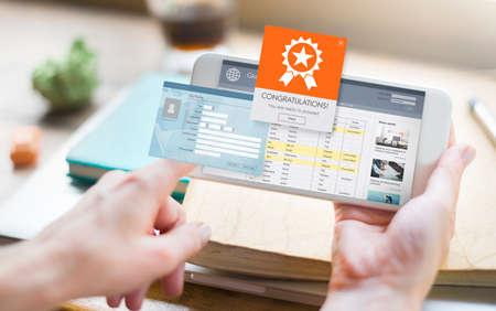 socialize: Register Enter Membership Sign-in Socialize Concept