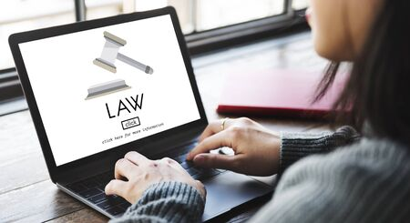 norms: Law Lawyer Governance Legal Judge Concept