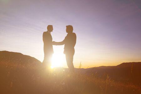 gente comunicandose: Concepto de la gente de negocios la comunicación.