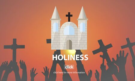 holiness: Holiness Gospel Pray Spiritual Wisdom Worship Concept Stock Photo