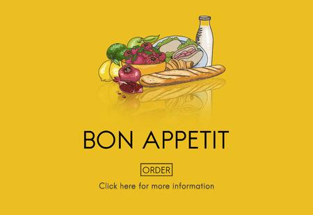 Ordering food concept Stock fotó - 110185109
