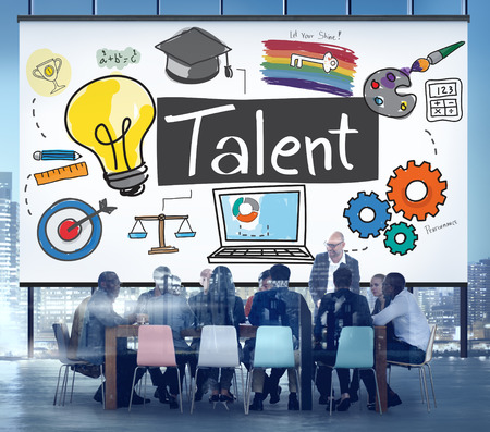Talent Expertise Natural Skill Occupation Skills Concept Фото со стока