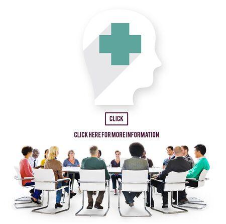 consultant: Medic Healthcare Consultant Solve Care Concept