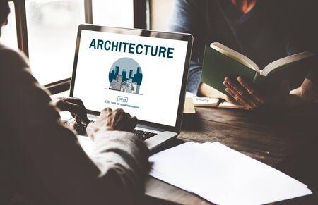 estate: Architecture Real Estate Building Concept