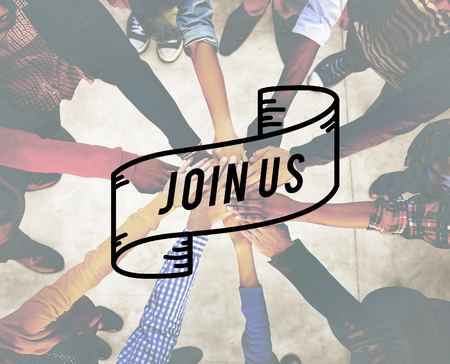Join Us Apply Hiring Membership Recruit Team Concept