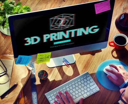 perceptual: 3D Creativity Illusion Graphic Futuristic Concept