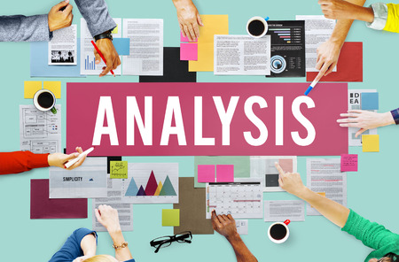 analyze: Analysis Analytics Analyze Data Information Concept