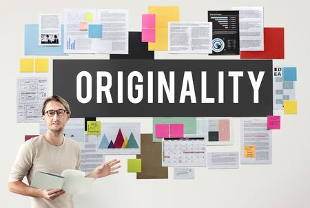 Originality Innovation Intellectual Patent Unique Concept Stock Photo