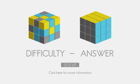 result: Difficulty Answer Solution Solving Strategy Result Concept Stock Photo